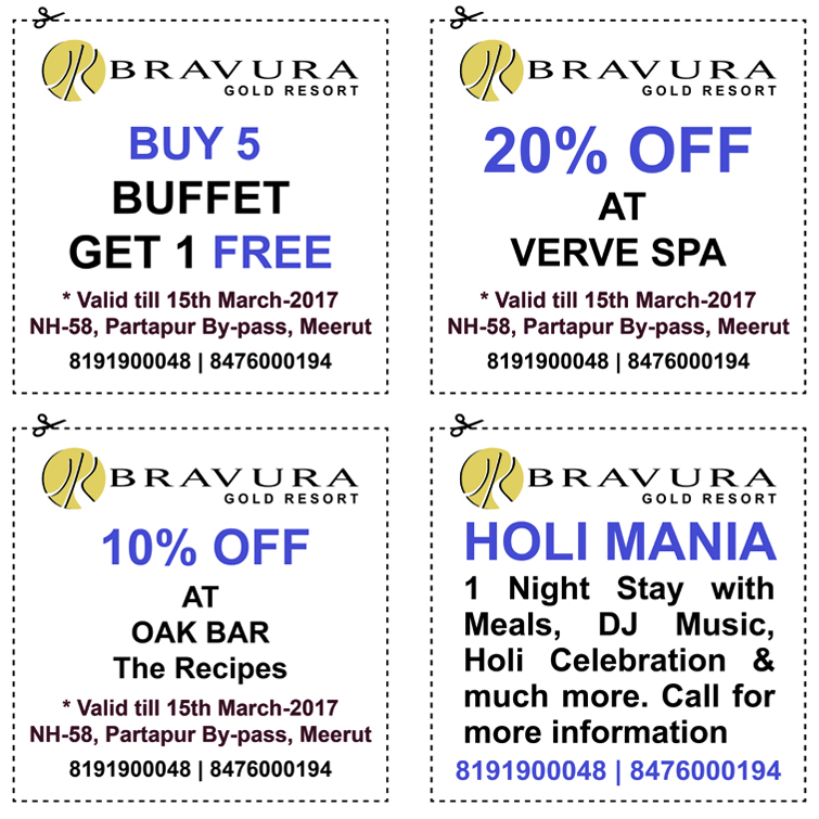 Holi Special Offers