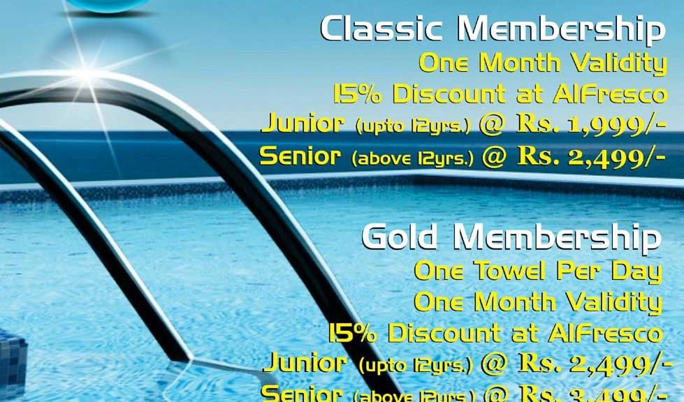Swimming Pool Membership Cards