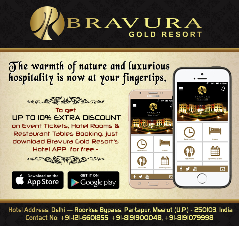 Bravura Gold Resort's Hotel APP