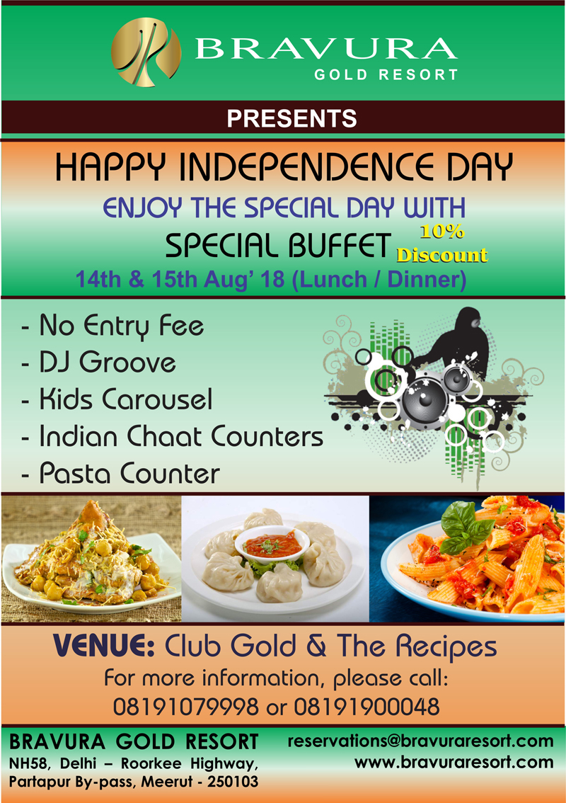 Teej & Independence Day Special Buffet